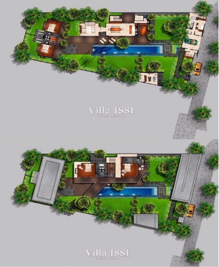 Villa Issi Floor Plan