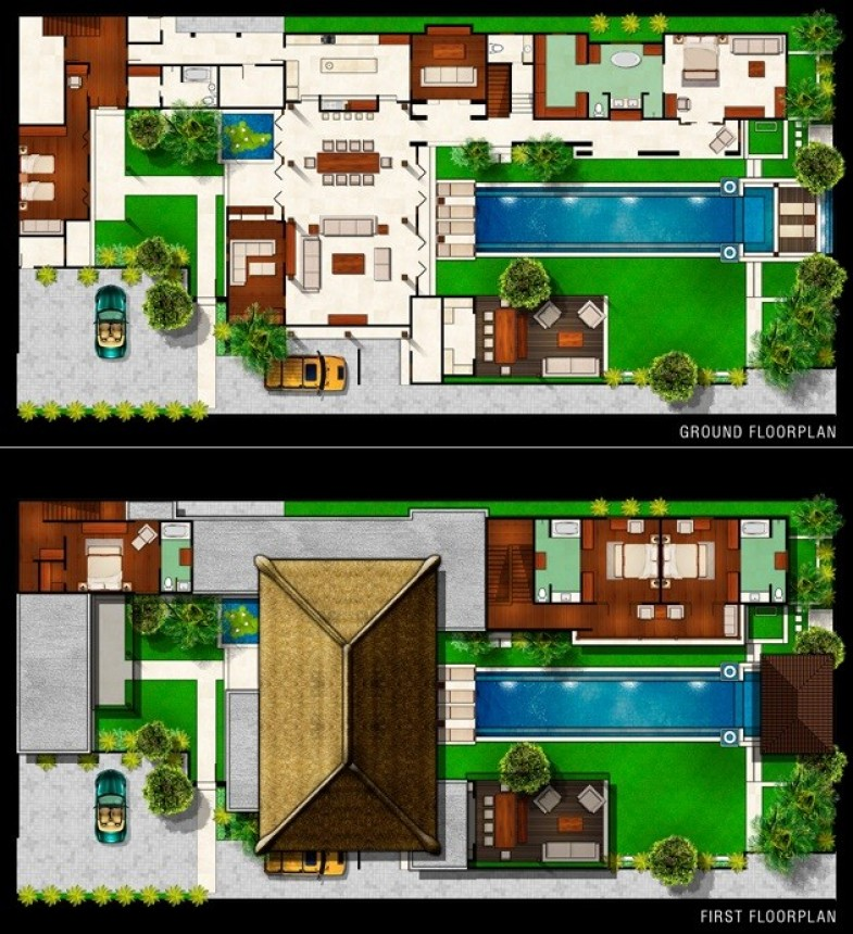 Villa Lilibel Plan