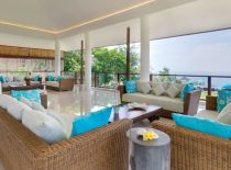 Villa Rose in Pandawa Cliff Estate, Living room area
