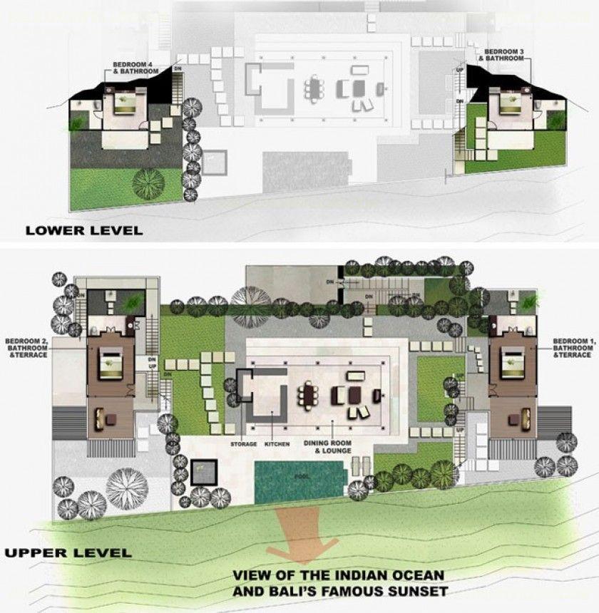 Rent Villa Bayu In Bukit From Bali Luxury Villas Best Bali 4 Bedroom Villa Plans