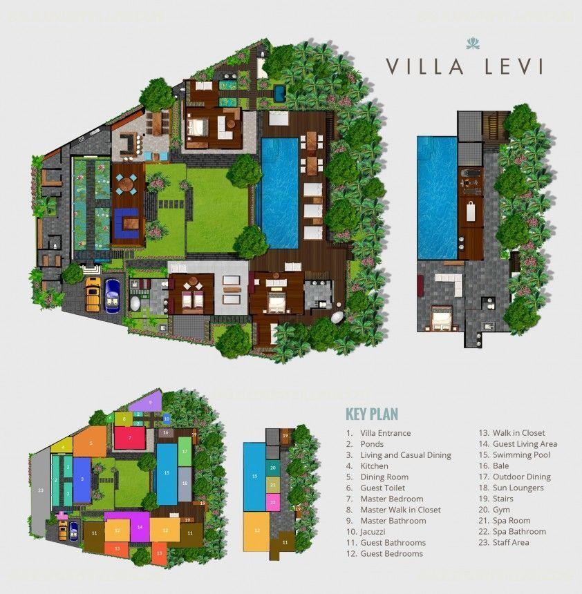 Villa Site Plan Design: Rent Villa Levi In Canggu From Bali Luxury Villas