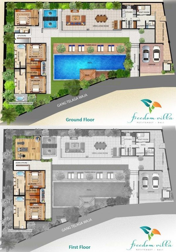 Villa Freedom Floor Plan