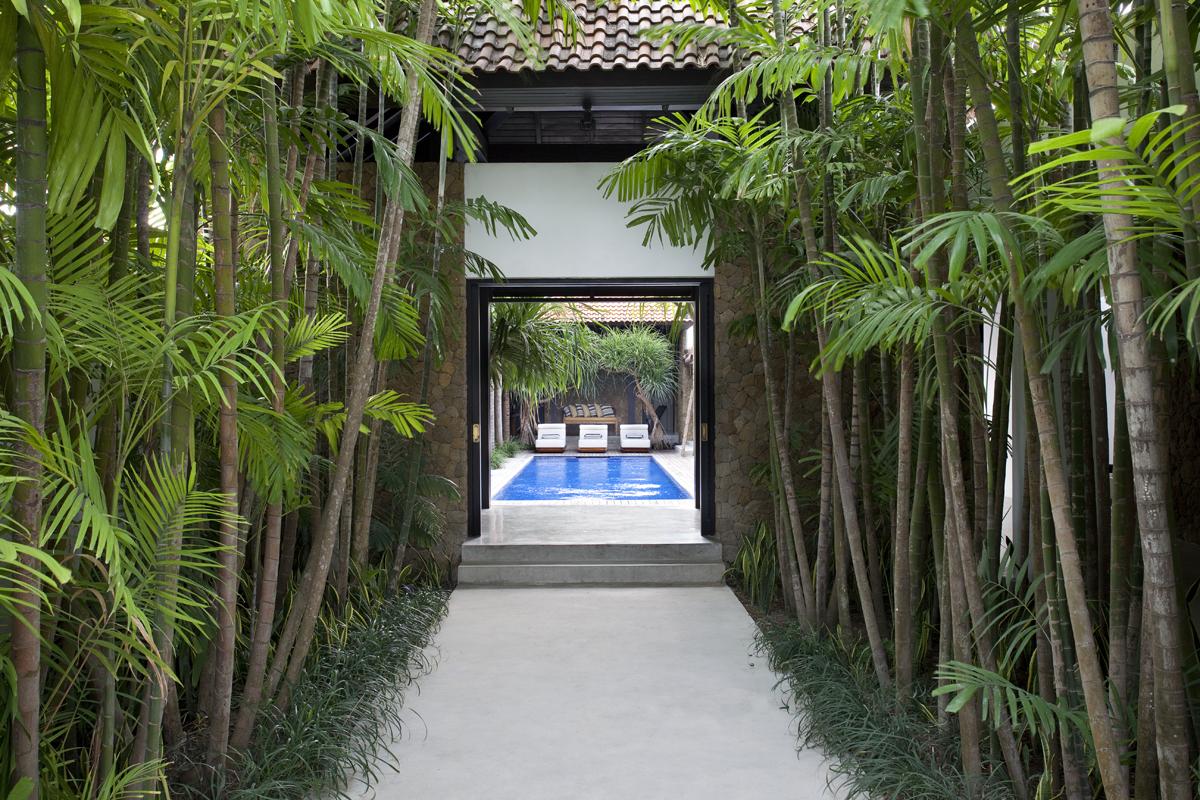 Villa At Echo Beach Entrance Bali Luxury Villas