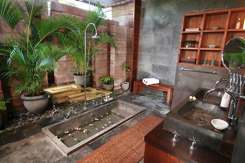Salle De Bains Villa Samudra Bali Luxury Villas