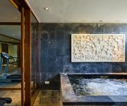 Bali Villa The Long House Longhouse gym jacuzzy
